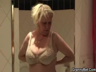 Bathroom Lingerie Mom Natural Old And Young