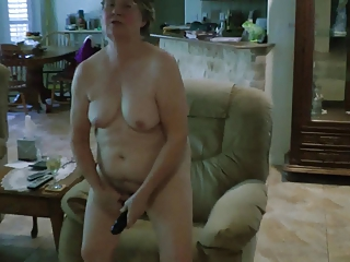Amateur Chubby Homemade Masturbating  Toy