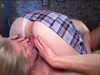 Lesbian Licking Old And Young