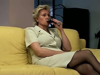 Drunk Secretary Stockings