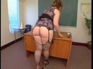 Ass Chubby Mature Stockings