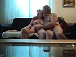 Amateur Homemade Kissing Older  Wife