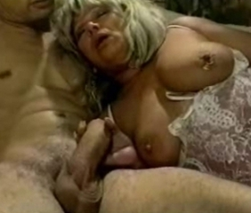 Big Cock Handjob Lingerie Natural Nipples