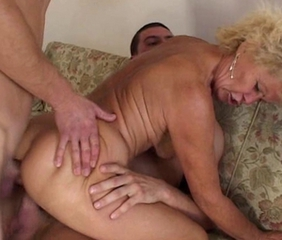 Anal Double Penetration Old And Young Threesome