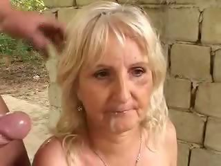 Cumshot Outdoor Swallow