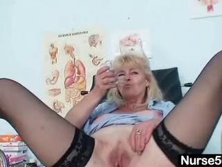 Nurse Pussy Shaved Stockings