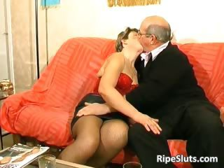 Kissing Older Stockings