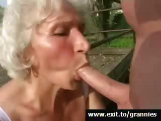 Big Cock Blowjob Old And Young Outdoor