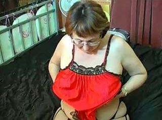 Amateur Chubby Glasses Solo Stripper