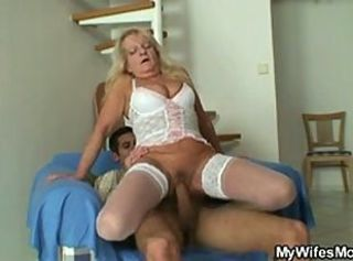 Big Cock Big Tits Hardcore Lingerie Mom Old And Young Riding Stockings