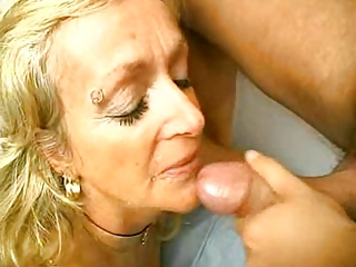 Blonde Blowjob Piercing