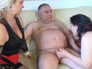 European German Handjob Mature Threesome