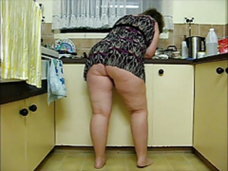 Ass Chubby Kitchen Mature