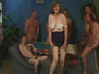 Big Tits Gangbang Natural  Stripper