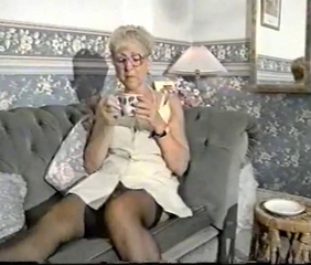 Glasses Stockings Vintage