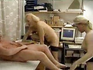 Amateur Family Old And Young Threesome