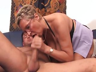 Blowjob Glasses Old And Young