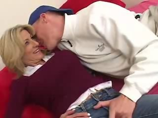 Jeans Mature Mom Old And Young