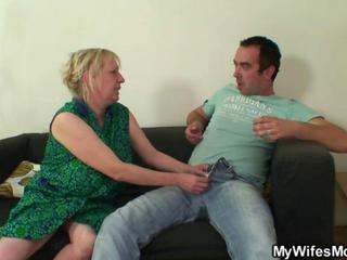 Big Tits Blonde Mom Old And Young