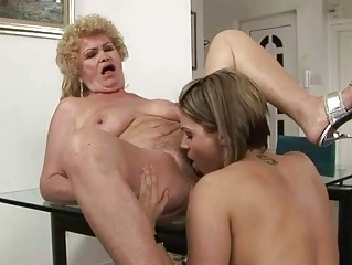 Lesbian Licking Old And Young Pornstar