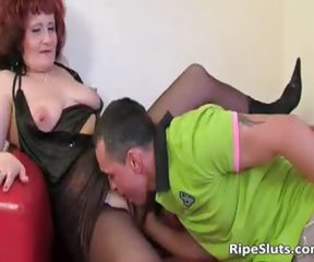 Licking Mom Old And Young Pantyhose Redhead