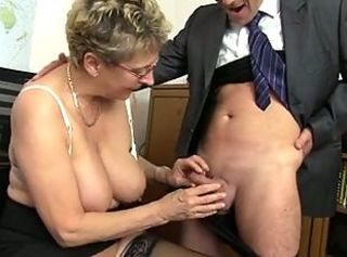 Big Tits Glasses Handjob Natural Small Cock Teacher