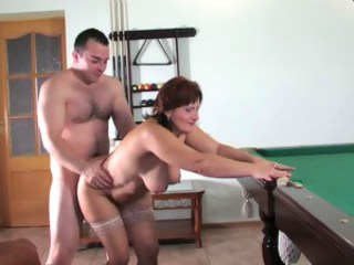 Chubby Doggystyle Mature Mom Natural Old And Young Stockings