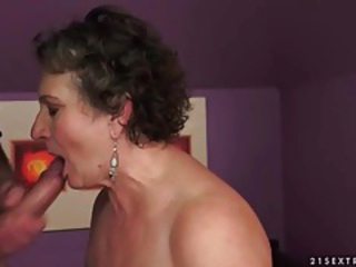 Big Cock Blowjob Brunette
