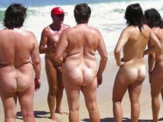 Amateur Ass Beach Nudist Outdoor