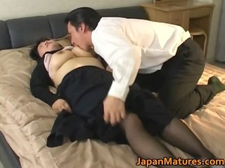 Asian Chubby Japanese Mature Stockings