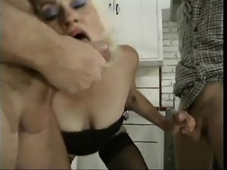 Blowjob Old And Young Threesome
