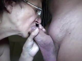 Amateur Blowjob Glasses Homemade