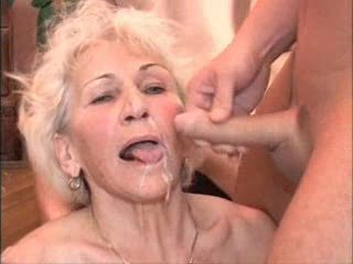 Cumshot European German Swallow