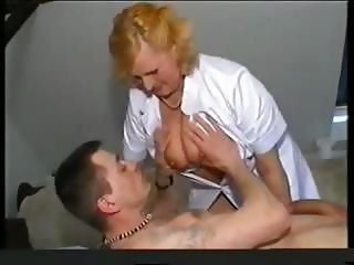 Chubby Doctor Mom Nipples Old And Young Uniform