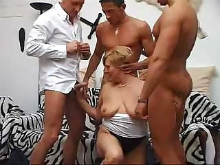 Chubby Gangbang Old And Young