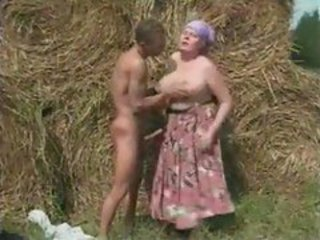 Big Cock Big Tits Farm Mom Natural Old And Young Outdoor