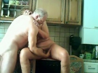 Amateur Fisting Hairy Homemade Kitchen Older Orgasm Wife
