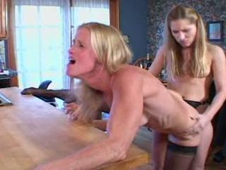 Lesbian Mature Mom Old And Young Strapon