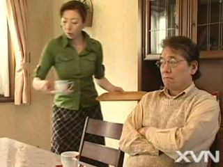 Asian Japanese Kitchen Older Wife