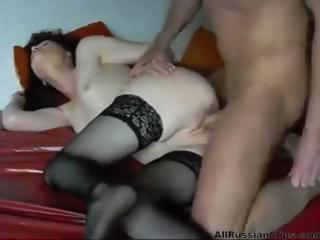 Amateur Hardcore Russian Shaved Stockings