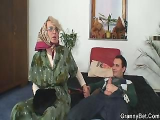 Big Cock Glasses Mom Old And Young