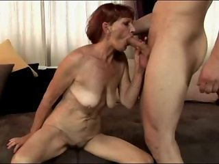 Blowjob Mom Old And Young Redhead  Skinny