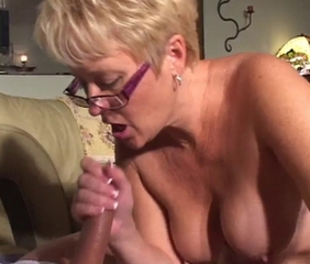 Glasses Handjob
