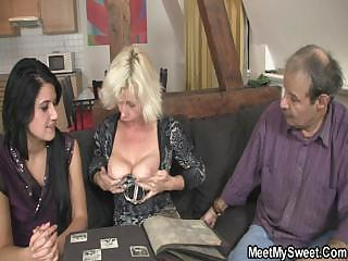 Family Mature Threesome