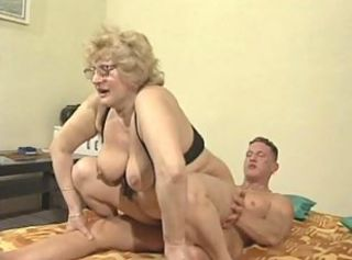 Big Tits Glasses Mom Natural Old And Young Riding