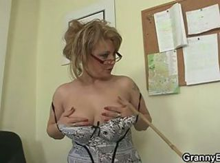 Glasses Stripper Teacher