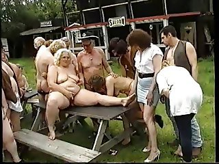 Groupsex Orgy Outdoor Party