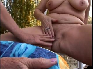 Chubby Outdoor Pussy