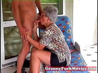 Blowjob Clothed Glasses Old And Young