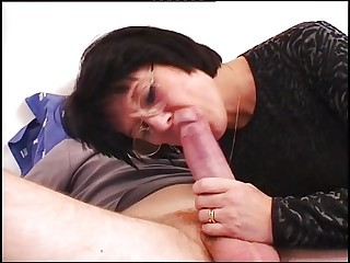 Big Cock Blowjob Glasses Mature Mom Old And Young